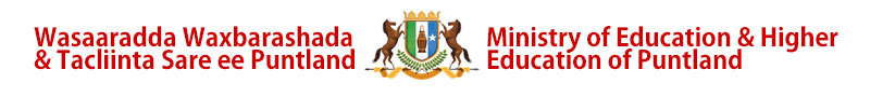 Ministry of Education in Puntland